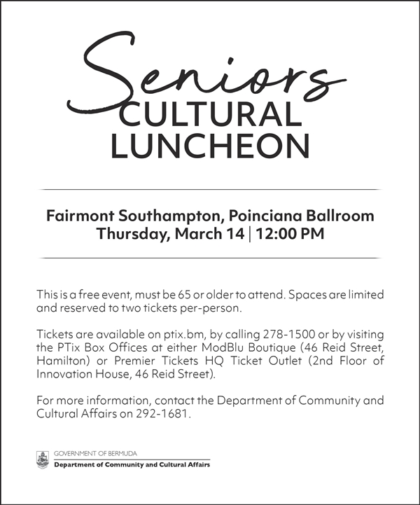 Senior's Cultural Luncheon