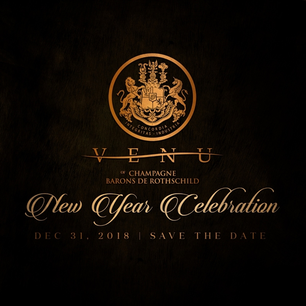 VENU of Champagne Barons De Rothschild: Bermuda's Ultimate NYE 2018 Celebration