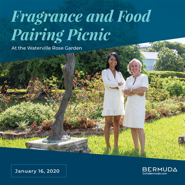 Fragrance and Food Pairing Picnic at the Waterville Rose Garden