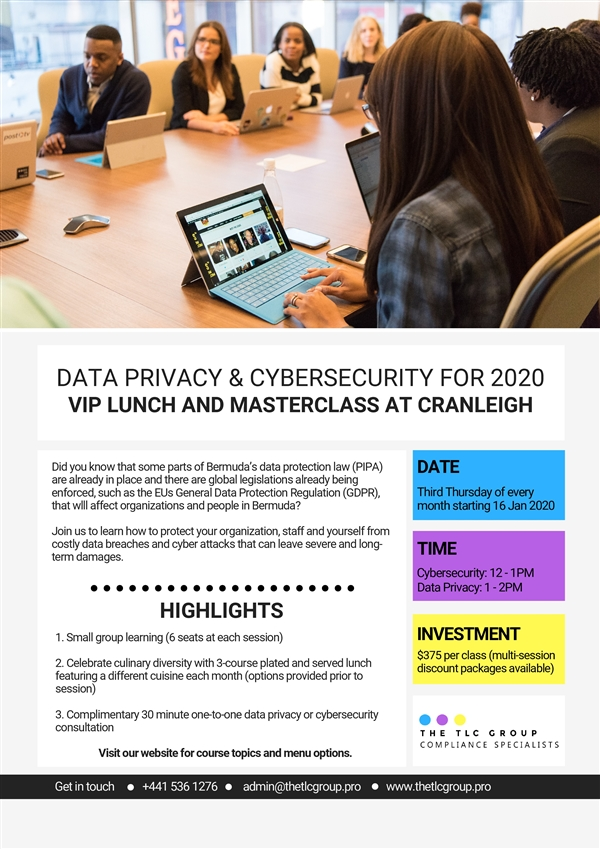 Data Privacy & Cybersecurity For 2020